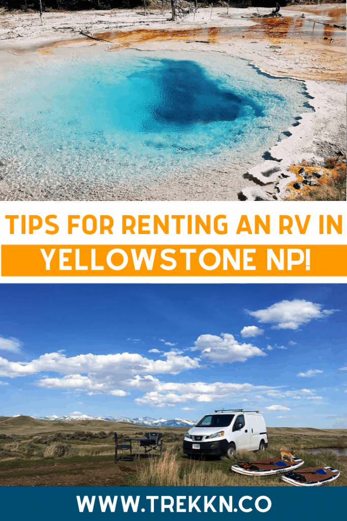 Yellowstone RV Rental Tips