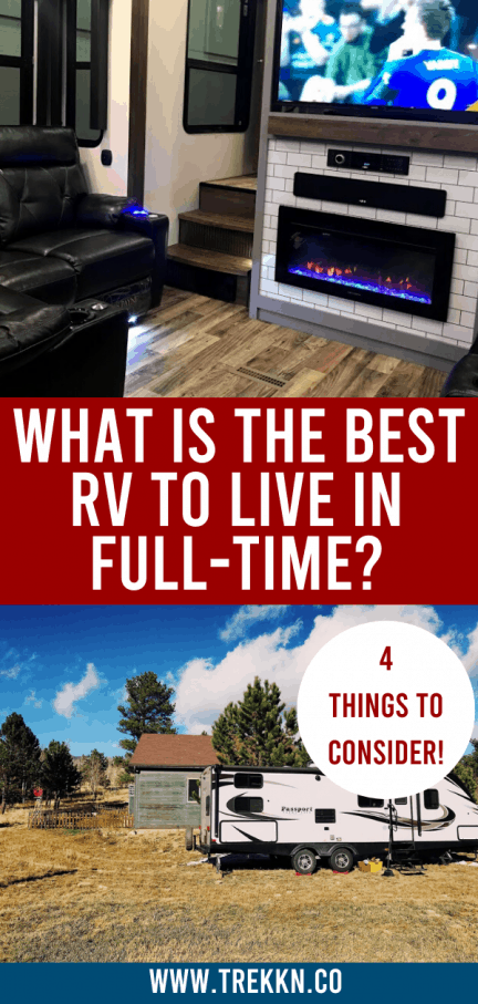 Choosing the best RV to Live in