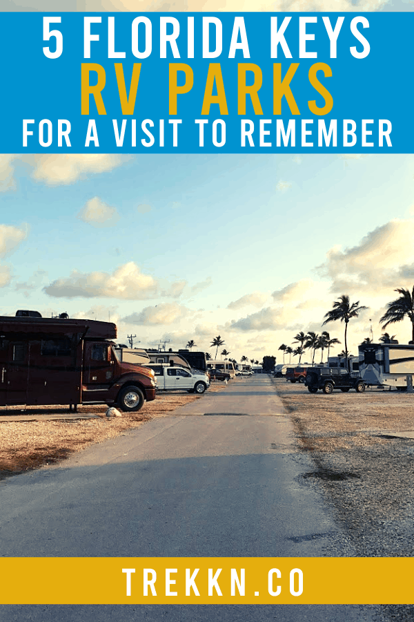 Florida Keys RV parks to visit