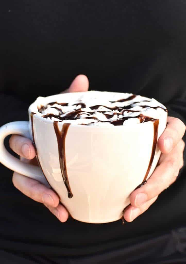 Spiked Hot Chocolate for camping