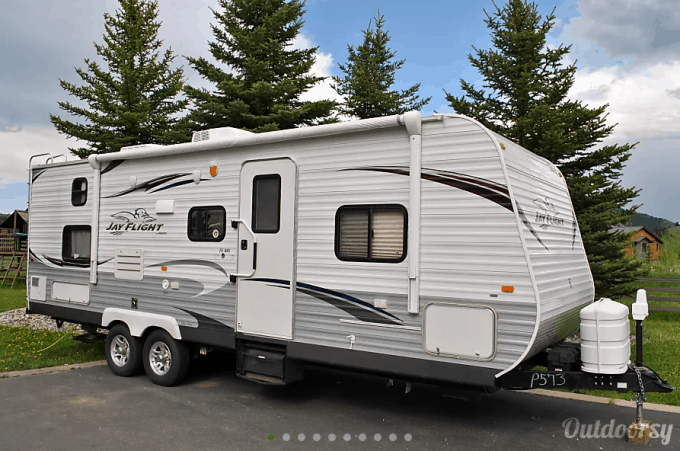 Travel Trailer Rentals Near Yellowstone National Park