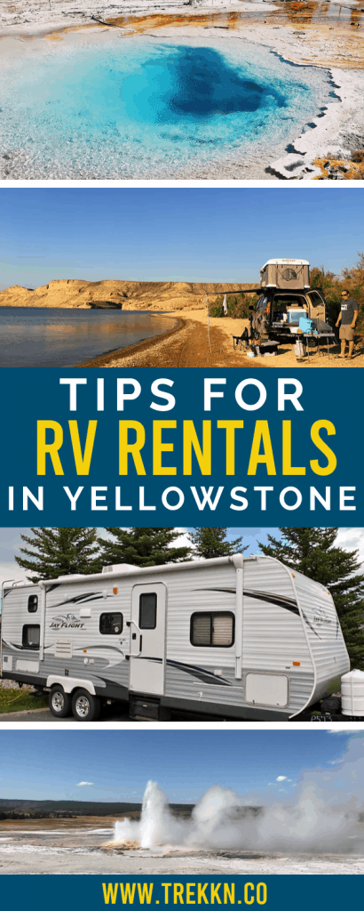 Yellowstone RV rentals tips