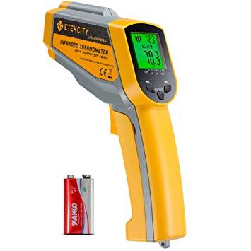 Etekcity Infrared Thermometer Temperature Gun Dual Laser Non-Contact Lasergrip 1030D