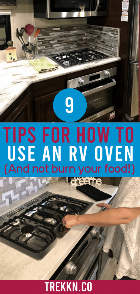 Tips for How to Use an RV Oven