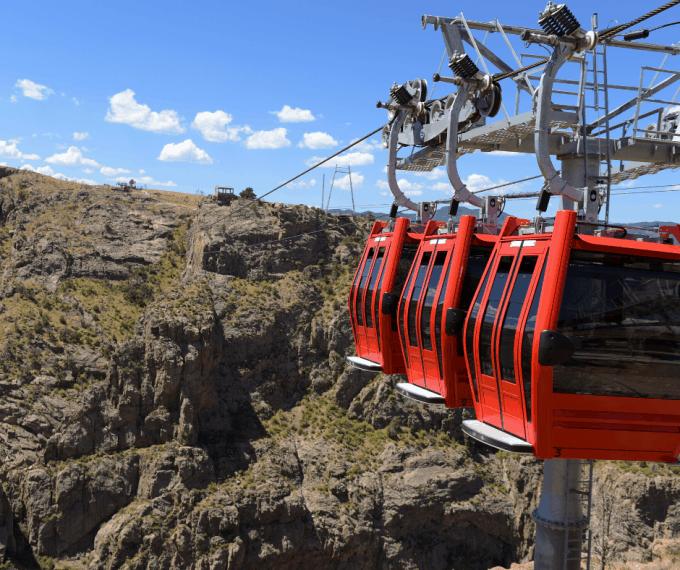 Royal Gorge Gondola in Colorado