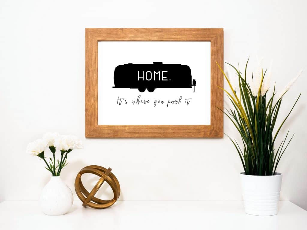 Airstream RV Printable Decor