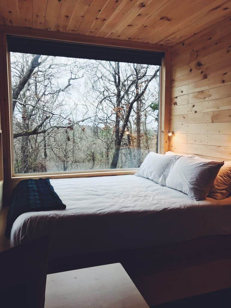 Getaway House Dallas Tiny Home Bedroom
