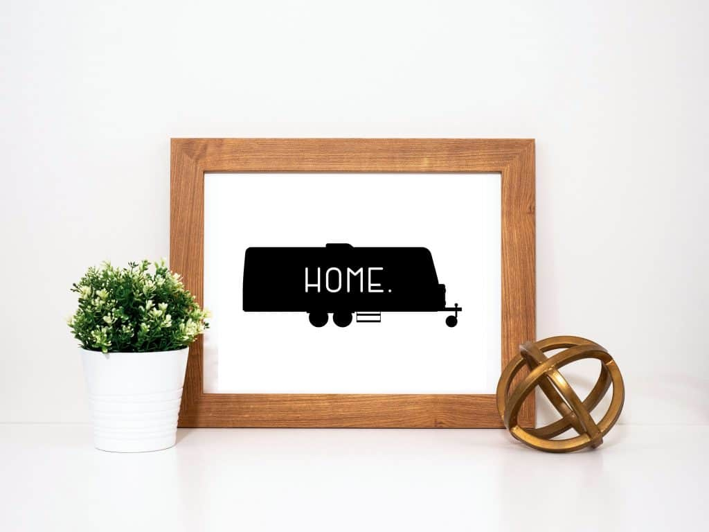 Travel Trailer Home Printable