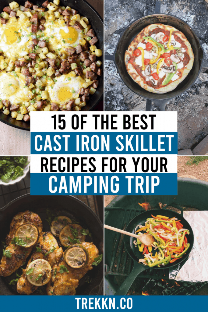 Cast Iron Skillet Recipes for Camping