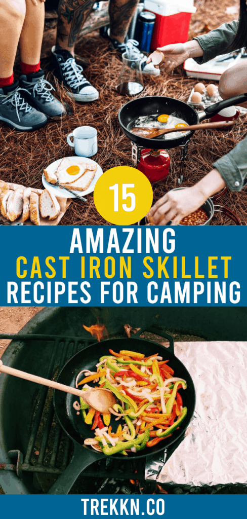 Camping Recipes Using a Cast Iron Skillet