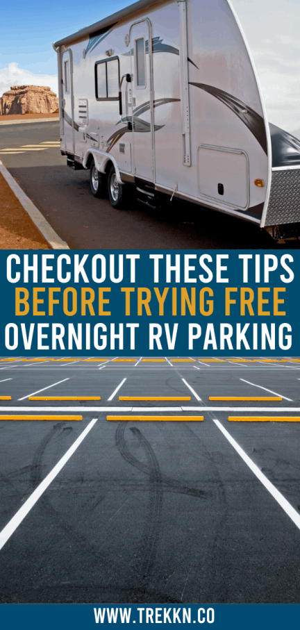 Free Overnight RV Parking Tips