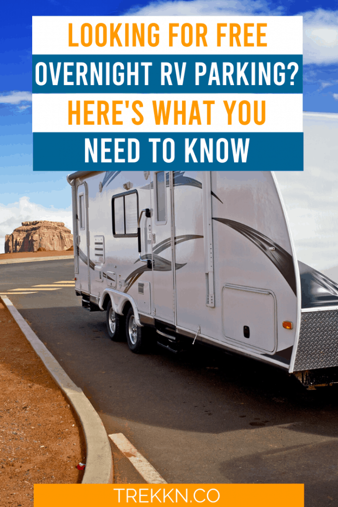 Everything you need to know about free overnight rv parking
