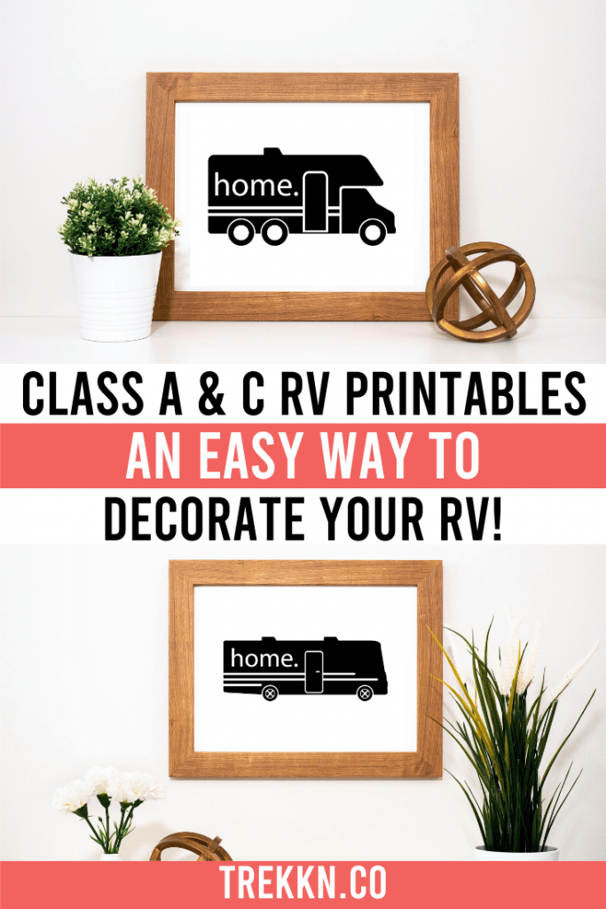 Printable RV Wall Decor for Motorhomes