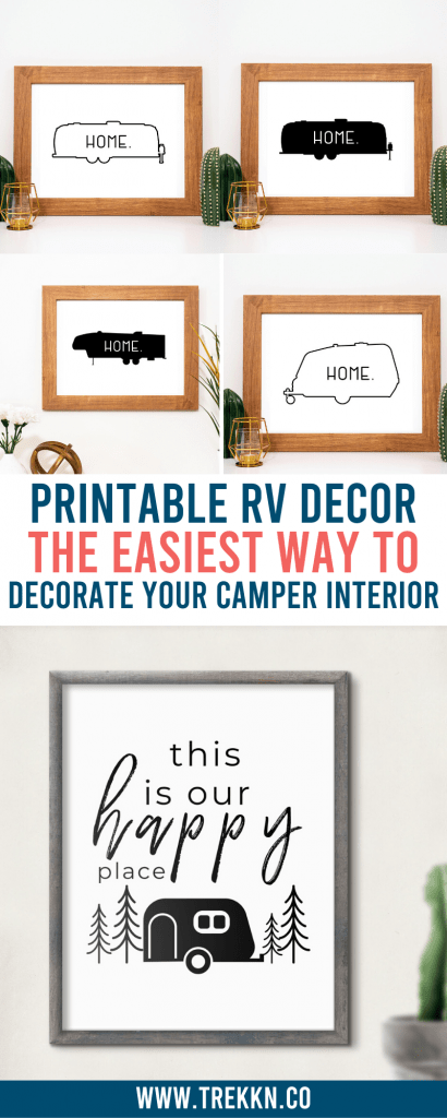 printable wall decor for your camper