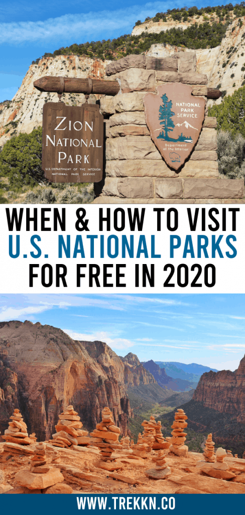 How and When to visit U.S. National parks for free