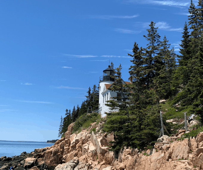 Bass Harbor Lighthouse Acadia National Park Maine