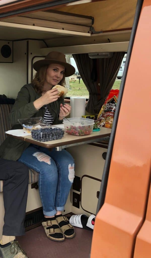 Make Ahead meals for camper van travel