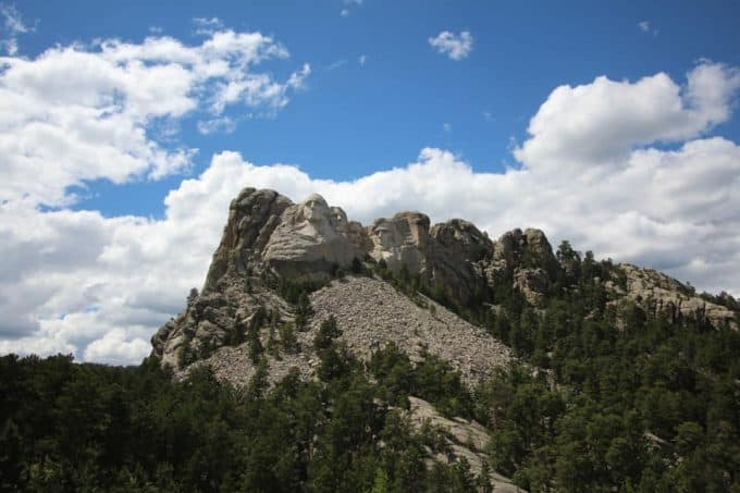 Mt Rushmore in South Dakota
