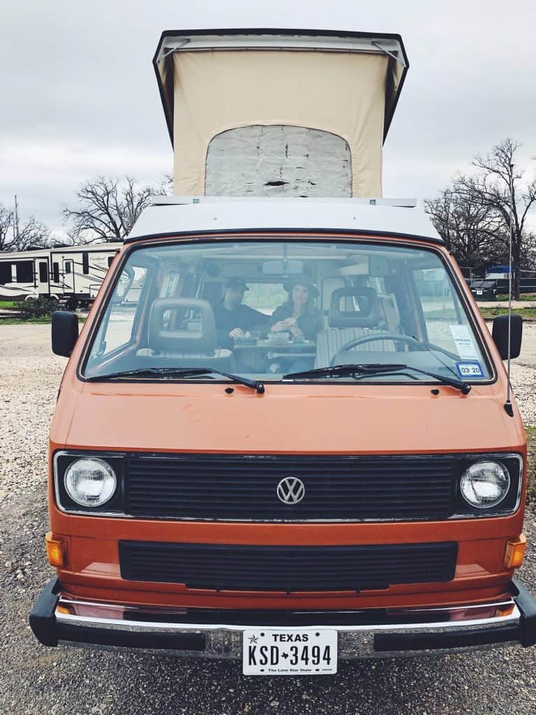 What It's Like to Rent a Camper van