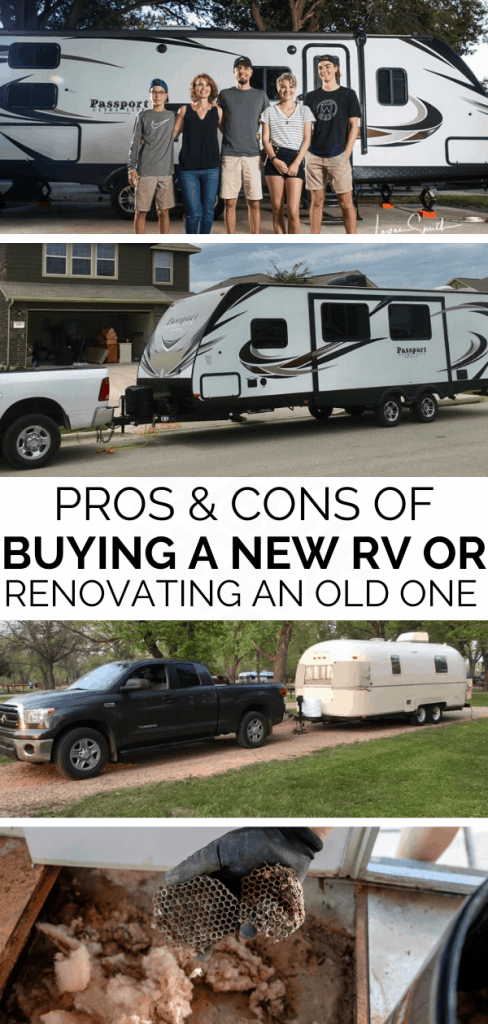 Buying a new RV verses Renovating an Old One