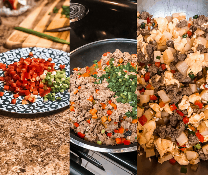 what to put in make ahead camping breakfast burritos