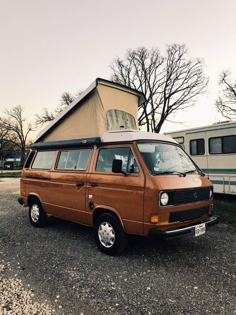 Renting a camper van