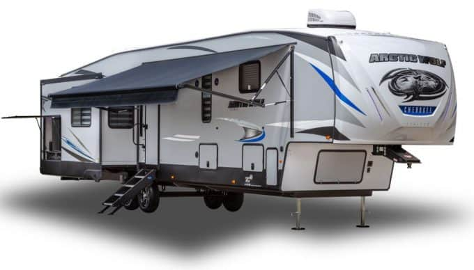 Arctic Wolf Fifth Wheel Exterior