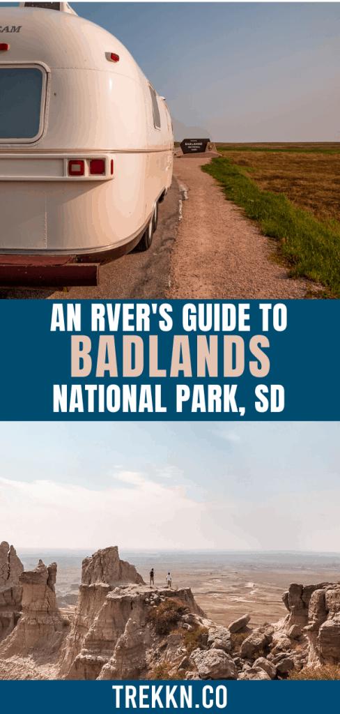 Guide to Badlands National Park for RVers