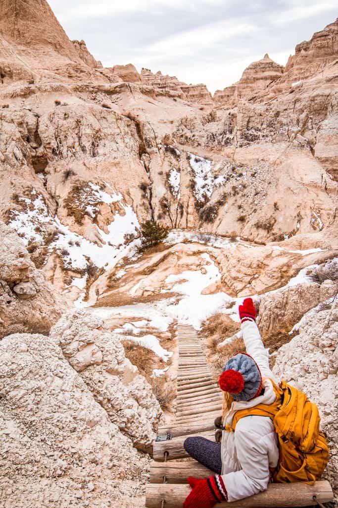 Badlands National Park Hiking Trails