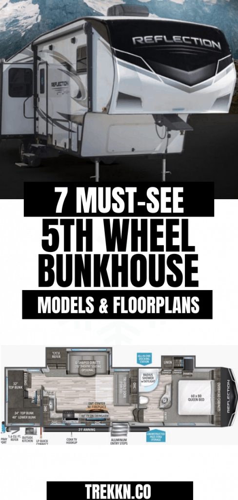 Must See 5th Wheel Bunkhouse floorplans