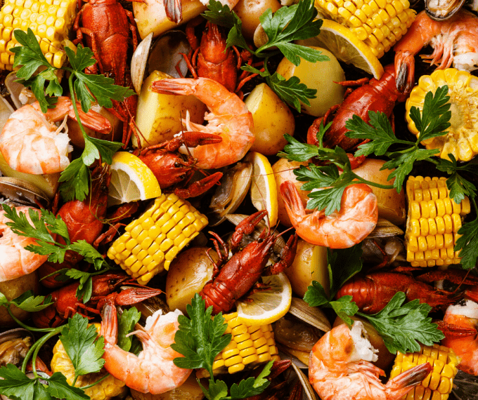 campfire seafood boil
