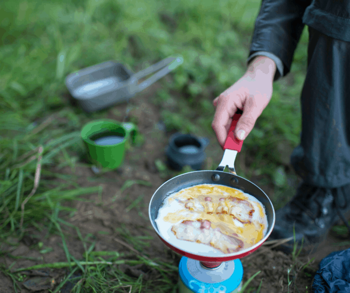 camping eggs