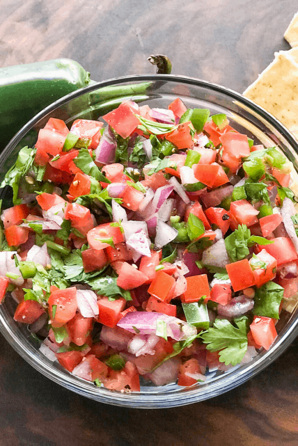Easy Homemade Pico de Gallo