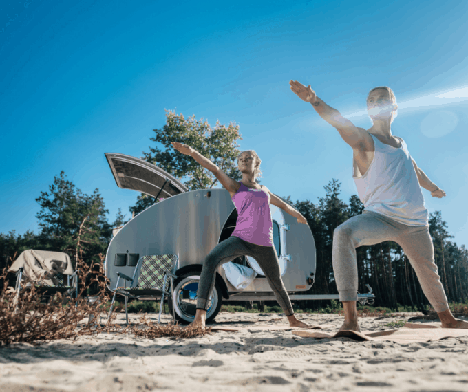 exercise while rving