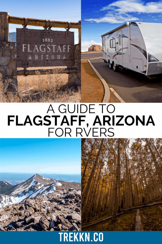Flagstaff Arizona RV Trip