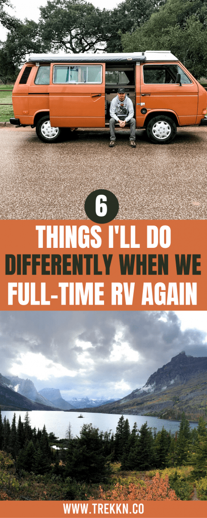 Full-Time RVing the Second Time