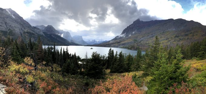 Glacier National Park Montana in the Fall