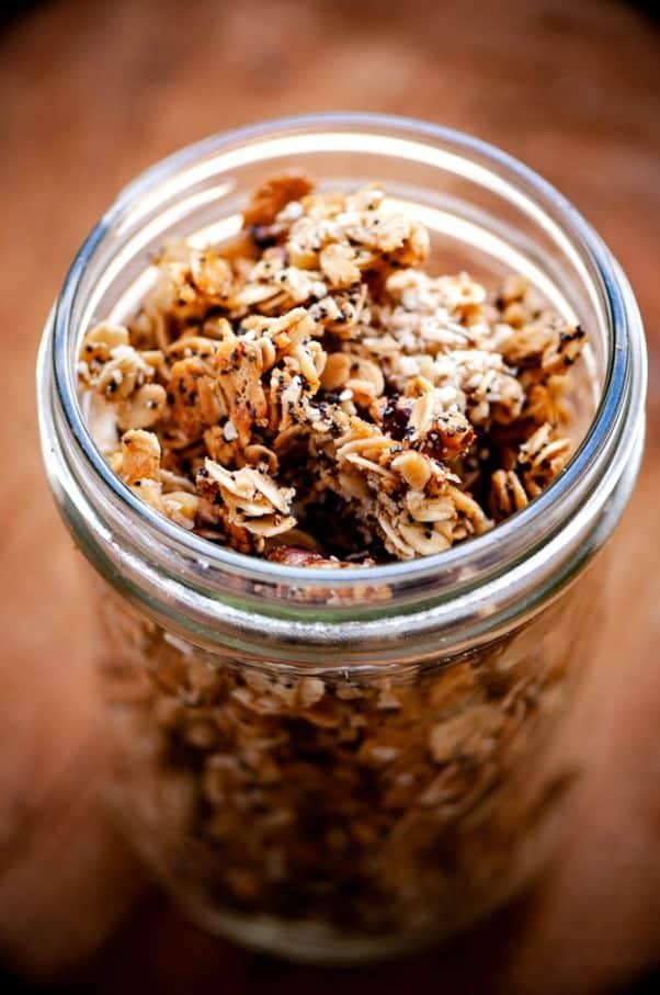 gluten free camping breakfast granola