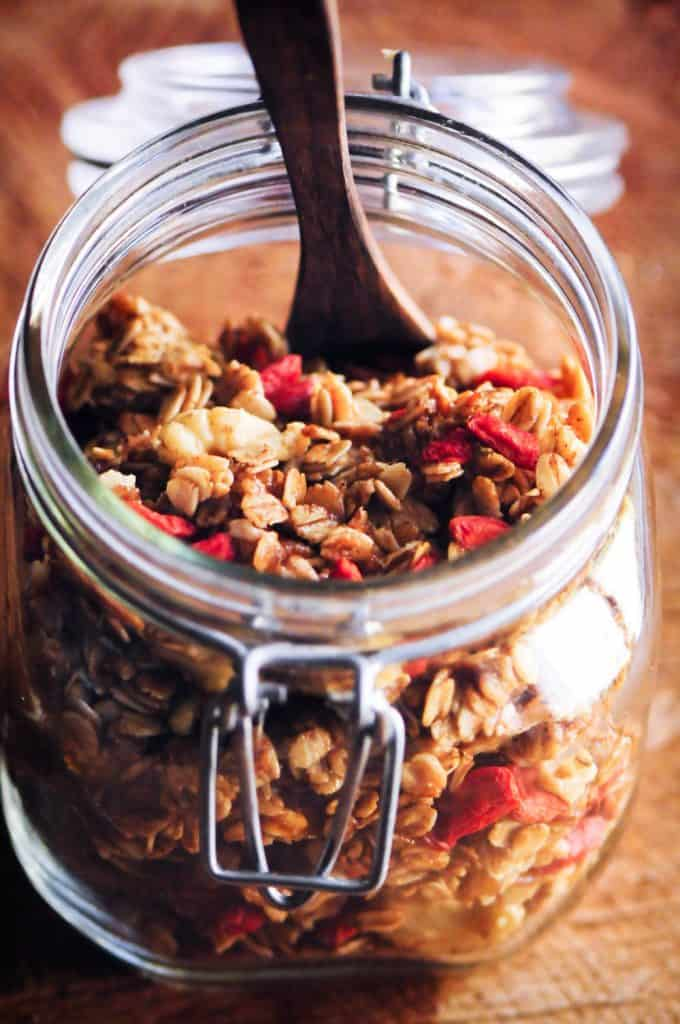 gluten free granola recipe for camping