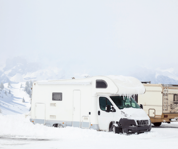 RVing in the Snow