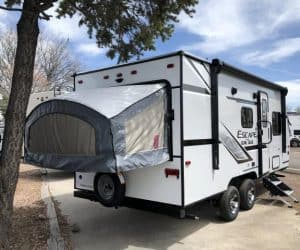 2020 K-Z Escape E180RBT Hybrid Camper