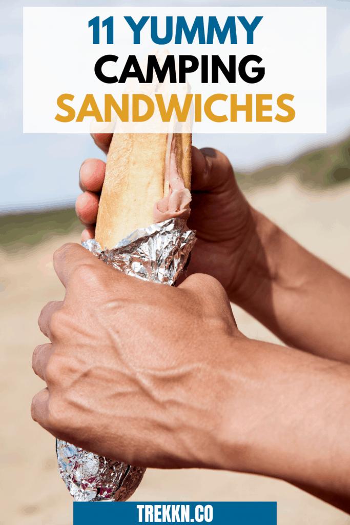 CAMPING SANDWICH RECIPES