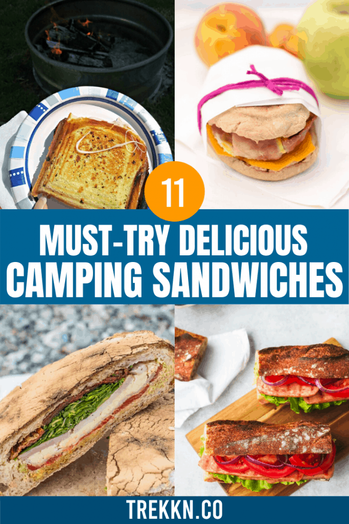 Must Try Camping Sandwiches