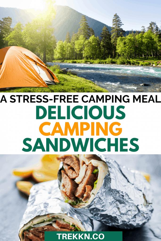 Delicious camping sandwich recipes