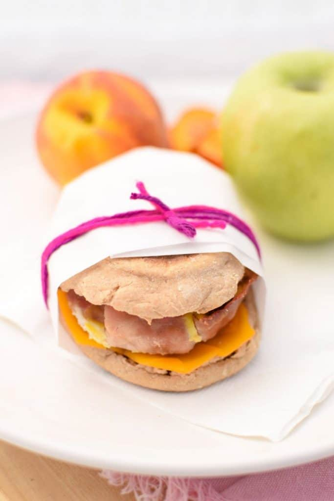 Make Ahead Homemade Breakfast Sandwiches