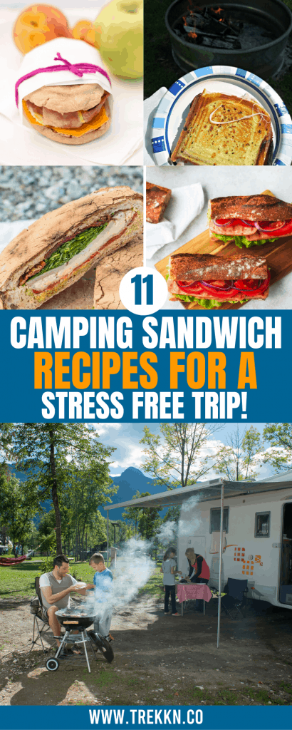 camping sandwiches
