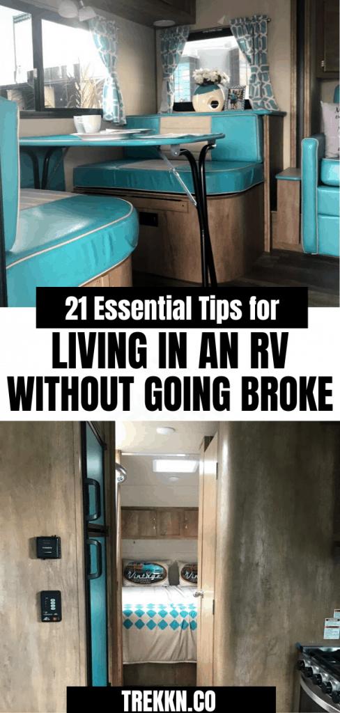 RV Living on a Budget