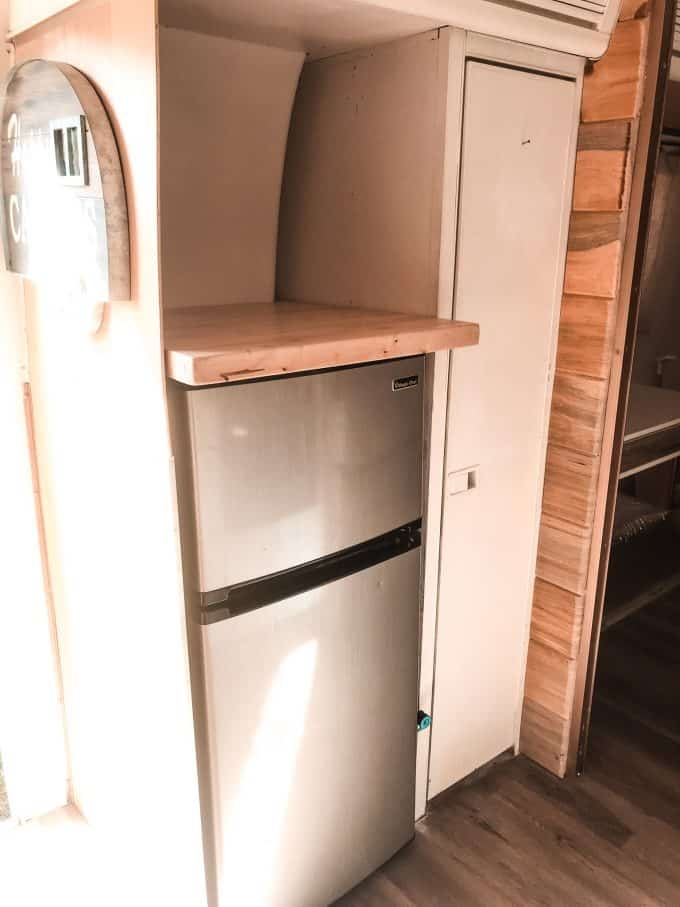 Inside an Airstream Travel Trailer for Sale