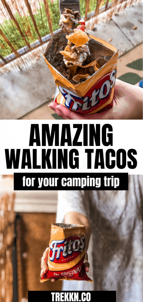 Walking Tacos for Camping