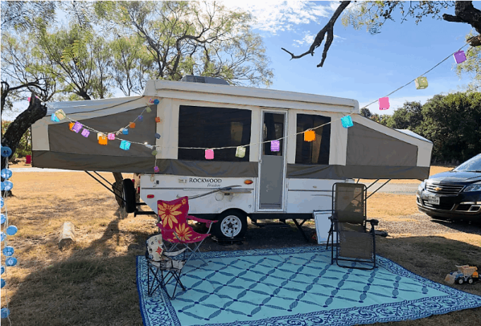 pop-up camper rentals near you
